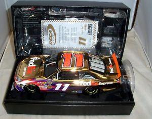 【送料無料】模型車 モデルカー スポーツカーアクションエリートゴールド#フェデックスエクスプレスデニーハムリン#124 action rcca elite gold 2011 11 fedex express jgr denny hamlin 16 of 24