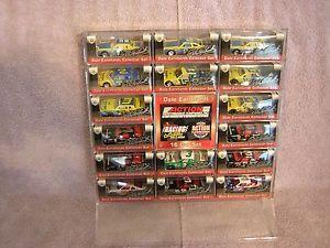 【送料無料】模型車 モデルカー スポーツカーデイルアーンハートdale earnhardt 16 car display set