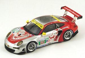 【送料無料】模型車 モデルカー スポーツカーポルシェルマンporsche 997 rsr 80 le mans 2012