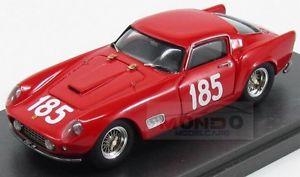 【送料無料】模型車 モデルカー スポーツカーフェラーリモンツァ#カララモデルmferrari 250 gt tdf monza 185 sant ambroeus 1959 carrara models 143 cmd43078 m