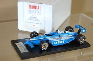 【送料無料】模型車 モデルカー スポーツカーモデルアメリカグレッグムーアformula models fm13 1998 reynard 981 us 500 winner car no 99 gregg moore mv