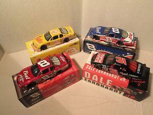 【送料無料】模型車 モデルカー スポーツカーデイルアーンハートジュニアdale earnhardt jr junior lot of four nascar cars