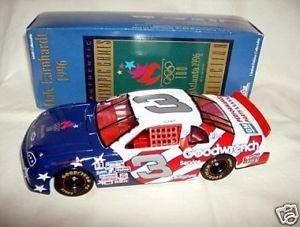 【送料無料】模型車 モデルカー スポーツカーアクション#オリンピックaction 124 3 goodwrench earnhardt 1996 olympic acog