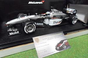 【送料無料】模型車 モデルカー スポーツカー#マクラーレンクルサードホットホイールフォーミュラカーf1 2 mclaren mp415 coulthard 2000 to 118 hot wheels 26740 formula 1 car