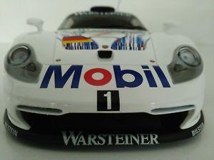 【送料無料】模型車 モデルカー スポーツカーポルシェグアテマラレーシングコレクションモデルporsche 911 gt1 racing collection 118 ut models