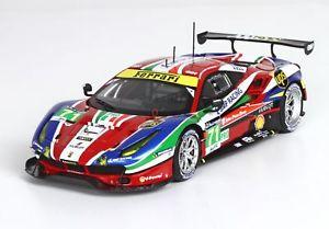 【送料無料】模型車 モデルカー スポーツカーフェラーリルマン#ferrari lm 488 lm gte pro le 24 bbrc189 h le mans 2016 71 143 bbrc189 bbr, 誉ディスプレイ:c250b58d --- sunward.msk.ru