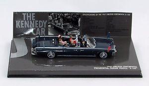 【送料無料】模型車 モデルカー スポーツカーリンカーンパレードlincoln continenatal 1961 presidential parade vehicle x100 143 minichmps