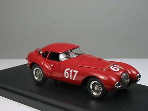 【送料無料】模型車 モデルカー スポーツカーフェラーリ#ミッレミリアトロンferrari 212 egg marzotto 617 mille miglia 1952hand built tron 143