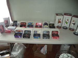 【送料無料】模型車 モデルカー スポーツカーコレクションデイルアーンハートセットlarge collection of 14 164 sets with tins of dale earnhardt and 4 sculptures