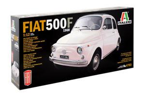 【送料無料】模型車 モデルカー スポーツカーフィアットitaleri 112 fiat 500 f 1968 ref 4703