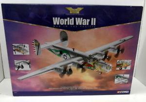 【送料無料】模型車 モデルカー スポーツカーコーギードラゴンcorgi 172 aa34001 consolidated b24j liberator the dragon amp; tail model plane