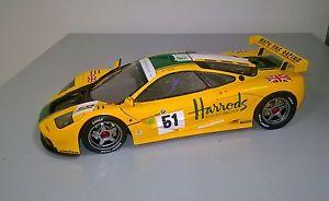 【送料無料】模型車 モデルカー スポーツカーマクラーレンルマンtsm mclaren f1 gtr lemans 1995