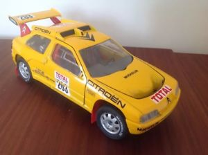 【送料無料】模型車 モデルカー スポーツカーシトロエンタイプパリダカールラリー118 citroen zx rallye raid 1991type paris dakar rallye des pharaons solido
