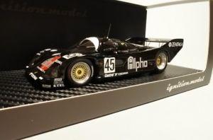 【送料無料】模型車 モデルカー スポーツカーイグニッションモデルアルファポルシェ#ルマンig0529 ignition model 143 alpha porsche 962c 45 1990 le mans