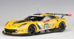 【送料無料】模型車 モデルカー スポーツカーシボレーコルベット#ルマンレース81605 autoart 118 chevrolet corvette c7r 2016 63 le mans 24hours race