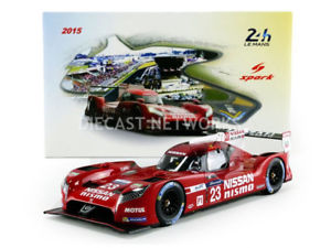 【送料無料】模型車 モデルカー スポーツカースパークルマンspark 118 nissan gtr lm lmp1 le mans 2015 18s191