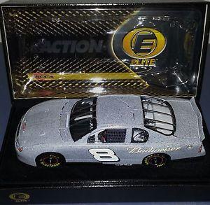 【送料無料】模型車 モデルカー スポーツカーデイルアーンハートジュニアバドワイザーテストエリート#2001 dale earnhardt jr budweiser test 124 elite 3222 of 3504