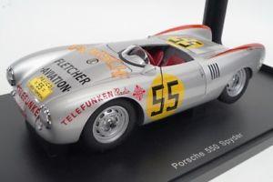 【送料無料】模型車 モデルカー スポーツカーポルシェスパイダークラス#モデルカー118 autoart 85470 porsche 550 spider class winner 1954 55 model cars