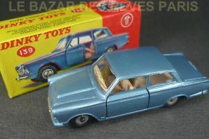【送料無料】模型車 モデルカー スポーツカーフォードボックスdinky toys gb ford consul cortina box ref 139