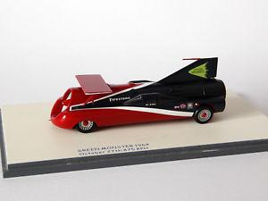 【送料無料】模型車 モデルカー スポーツカー#グリーンモンスタービジネス?143 art arfon039;s green monster lsr bonneville 1964bizarre biz