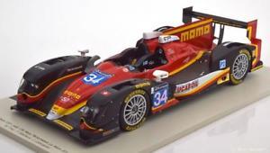 【送料無料】模型車 モデルカー スポーツカースパークジャッドレースパフォーマンス#ルマン118 spark oreca 03r judd race performance 34, 24h le mans 2014