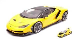 【送料無料】模型車 モデルカー スポーツカーランボルギーニシリーズイエローjm 2231469 maisto mi38136 lamborghini centenary exclusive series yellow 118 mod