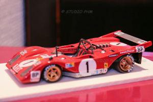 【送料無料】模型車 モデルカー スポーツカーフェラーリルマンキットスパークferrari 312p canam n 1 nart 9th le mans 74 143 rar fds kit built no bbrspark