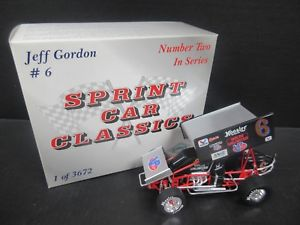【送料無料】模型車 モデルカー スポーツカー#ジェフゴードン#;スケールスプリントカー6 jeff gordon 034;molds unlimited034; 118th scale sprint car