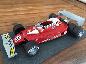 【送料無料】模型車 モデルカー スポーツカーフェラーリフェラーリラウダ116 simil 118 ferrari 312 t6 the only ferrari 6 wheels 1976 lauda