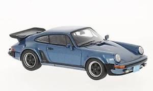 【送料無料】模型車 モデルカー スポーツカーネオスケールモデルネオポルシェターボアメリカjm2242488neo scale models neo43259 porsche 911 930 turbo usa 1985 met blue 1
