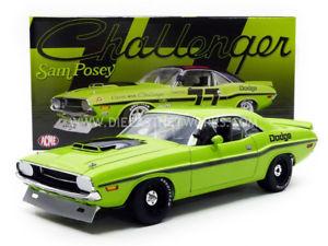 【送料無料】模型車 モデルカー スポーツカーダッジチャレンジャートランスacme 118 dodge challenger trans am 1970 1806001 b