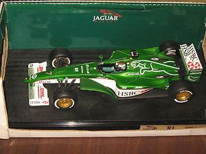 【送料無料】模型車 モデルカー スポーツカーレアホットホイールジャガーシーズンエディーアーバインultra rare 118 hot wheels jaguar racing r1 season 2000 eddie irvine