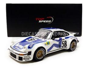 【送料無料】模型車 モデルカー スポーツカートップスピードポルシェルマンtop speed 118 porsche 934le mans 1977ts0057
