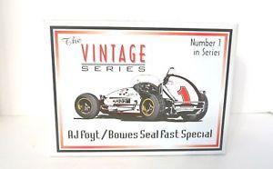【送料無料】模型車 モデルカー スポーツカーシールビンテージスプリントカースケールフォイトgmp bowes seal fast special y vintage sprint car 118 scale aj foyt