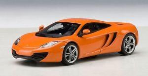 【送料無料】模型車 モデルカー スポーツカーオートアートゲートウェイオレンジモデルjm 2135029 auto artgateway aa56006 mc laren mp412c 2011 orange 143 model