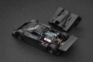【送料無料】模型車 モデルカー スポーツカーレーシングジャガープレーンカラーブラックモデル