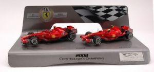 【送料無料】模型車 モデルカー スポーツカーホットホイールフェラーリライコネンjm2122525hot wheels hwl8784 ferrari k raikkonenf mass 08 143 figure