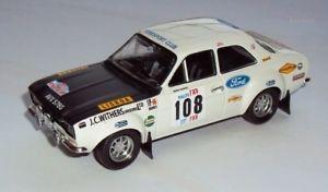 【送料無料】模型車 モデルカー スポーツカーフォードエスコートポルトガルモデルjm 2128139 trofeu rral 08 ford escort 1600tc 1st portugal 143 model