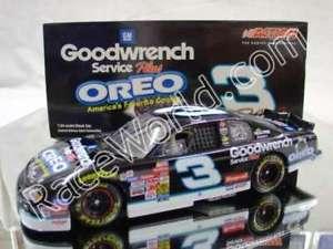 【送料無料】模型車 モデルカー スポーツカーデイルアーンハート#rare dale earnhardt 3 2001 goodwrench oreo original 124 car