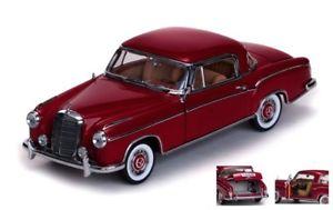 【送料無料】模型車 モデルカー スポーツカーサンスターメルセデスクーペレッドモデルjm 2145131 sunstar ss3563 mercedes 220 se coupe 1958 red 118 model