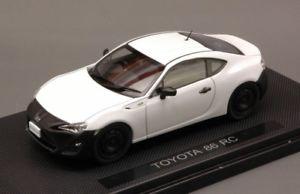 【送料無料】模型車 モデルカー スポーツカートヨタモデルjm 2130775 ebbro toyota eb44885 86 rc white 143 model
