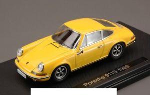 【送料無料】模型車 モデルカー スポーツカーイエローポルシェモデルjm 2138621 ebbro eb44793 porsche 911s 1969 yellow 143 model