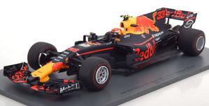 【送料無料】模型車 モデルカー スポーツカースパークレッドブルマレーシアレッドブル118 spark red bull rb13 winner gp malaysia verse fall 2017 red bull