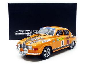 【送料無料】模型車 モデルカー スポーツカーミトスサーブスウェーデンラリーtecnomodel mythos 118 saab 96 v4 swedish rally 1975tm1880c