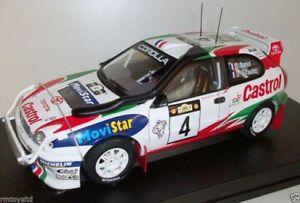 【送料無料】模型車 モデルカー スポーツカートヨタカローラ#autoart 118 89981 toyota corolla wrc 1999 auriol giraudet 04