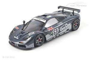 【送料無料】模型車 モデルカー スポーツカーマクラーレンルマンモデルmclaren f1 gtrwinner 24h le mans 1995 1 of 3000 tsm model 118 tsm13