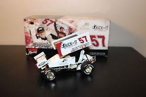 【送料無料】模型車 モデルカー スポーツカーカイルラーソン#ジェフゴードンスプリントカーサインkyle larson 57 2012 jeff gordon foundation sprint car 124 autographed 1 of 660