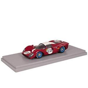 【送料無料】模型車 モデルカー スポーツカーモデルフェラーリタルガフローリオbespoke model 143 ferrari 412p targa florio 1967