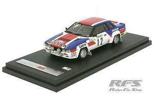 【送料無料】模型車 モデルカー スポーツカーラリーモンテカルロnissan 240 rs rally monte carlo 1983salonenharjanne 143 ig 103