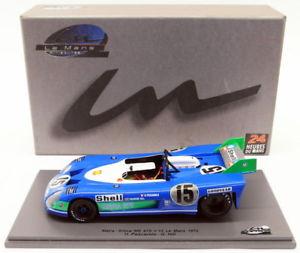 【送料無料】模型車 モデルカー スポーツカースパークスケールモデル#ペスカローロヒルspark 124 scale model lms005 matrasimca ms 670 lm 1972 15 pescarolohill